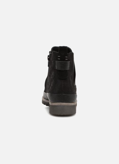 Bottines et boots Jana shoes Adore Noir vue droite