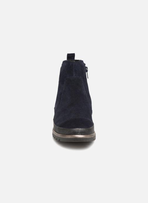 Stivaletti e tronchetti Jana shoes Adore Azzurro modello indossato