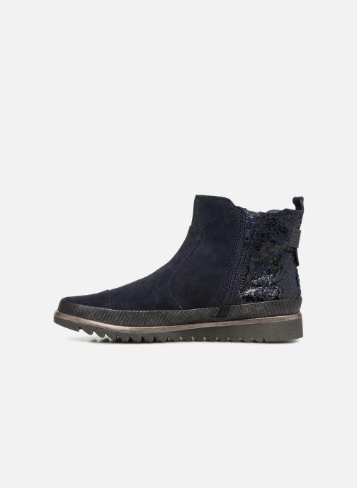 Stivaletti e tronchetti Jana shoes Adore Azzurro immagine frontale