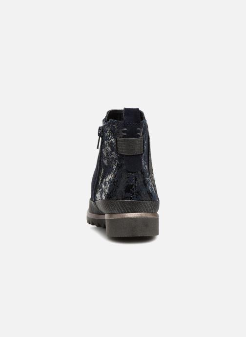 Stivaletti e tronchetti Jana shoes Adore Azzurro immagine destra