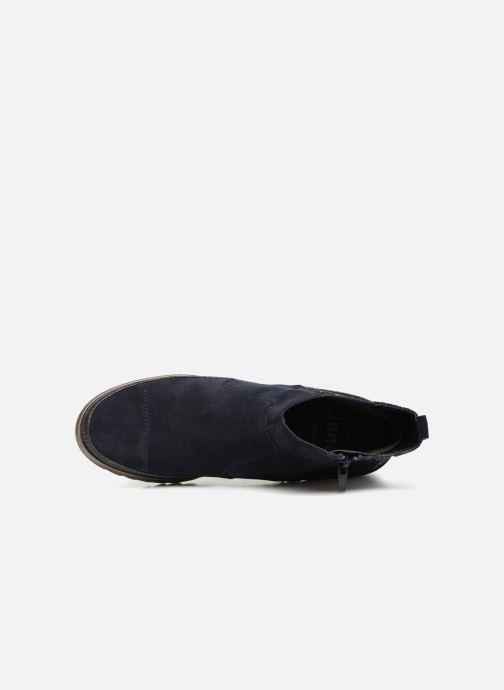 Stivaletti e tronchetti Jana shoes Adore Azzurro immagine sinistra