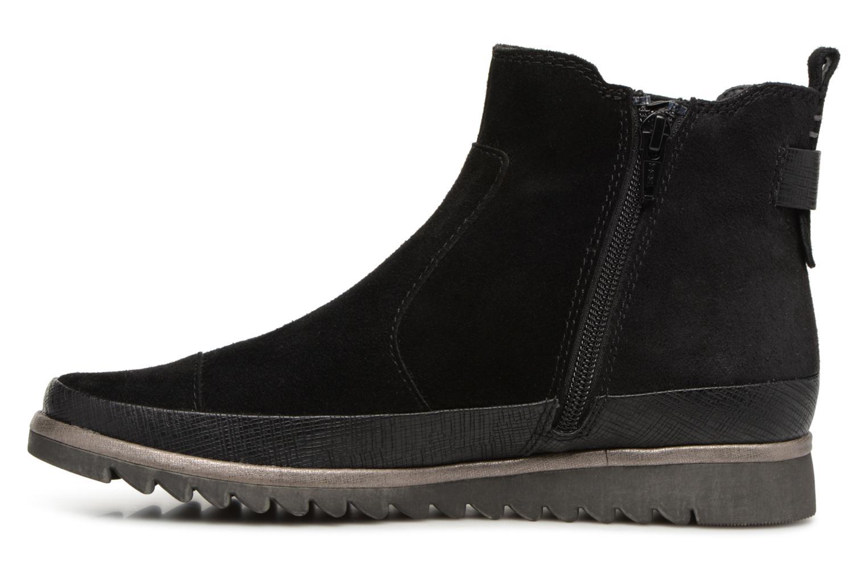 Bottines et boots Jana shoes Adore Noir vue face
