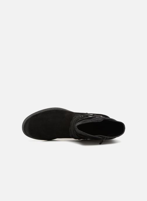 Boots en enkellaarsjes Jana shoes Susina 25425 Zwart links