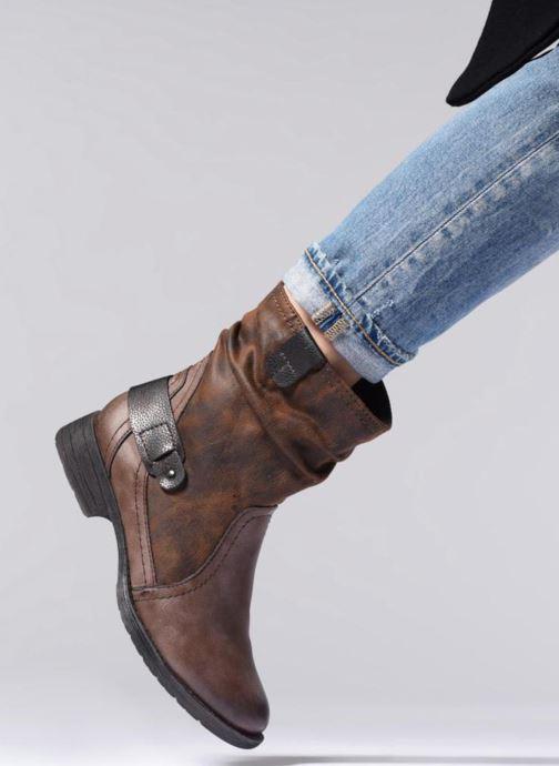 Boots en enkellaarsjes Jana shoes Susina 25460 Bruin onder
