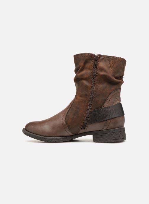 Boots en enkellaarsjes Jana shoes Susina 25460 Bruin voorkant