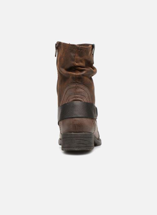 Boots en enkellaarsjes Jana shoes Susina 25460 Bruin rechts