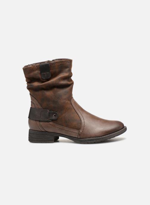Boots en enkellaarsjes Jana shoes Susina 25460 Bruin achterkant