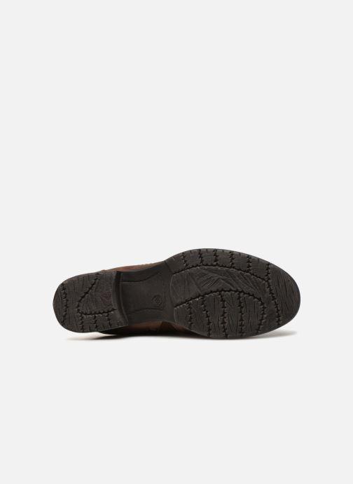 Boots en enkellaarsjes Jana shoes Susina 25460 Bruin boven