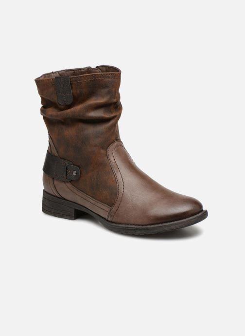 Boots en enkellaarsjes Jana shoes Susina 25460 Bruin detail