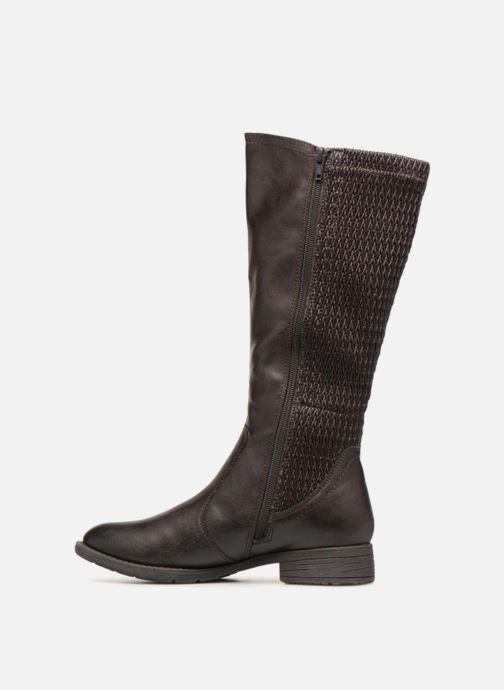 Ankle boots Jana shoes Susina 25460 Brown front view