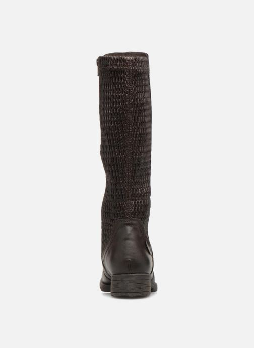 Ankle boots Jana shoes Susina 25460 Brown view from the right