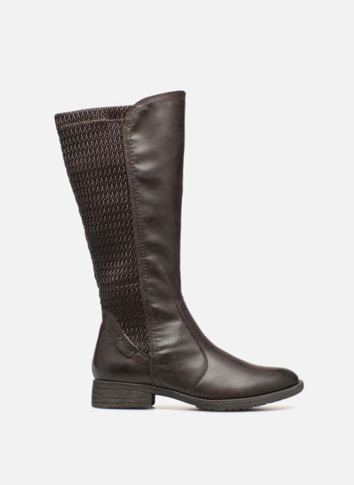 Ankle boots Jana shoes Susina 25460 Brown back view