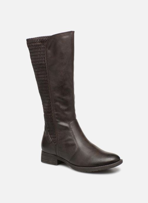 Ankle boots Jana shoes Susina 25460 Brown detailed view/ Pair view