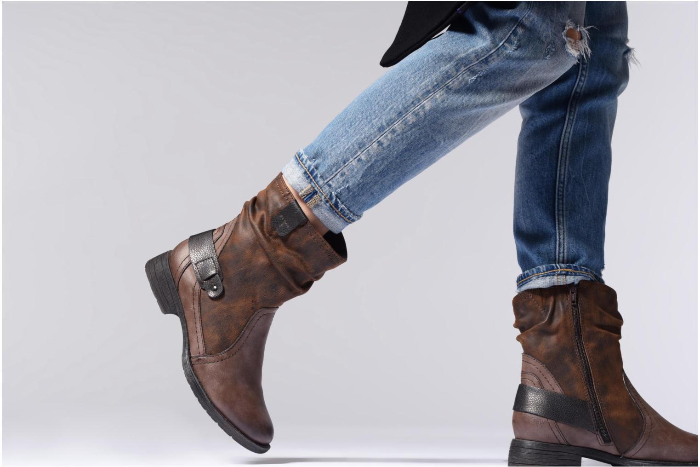 Bottines et boots Jana shoes Susina 25460 Marron vue bas / vue portée sac