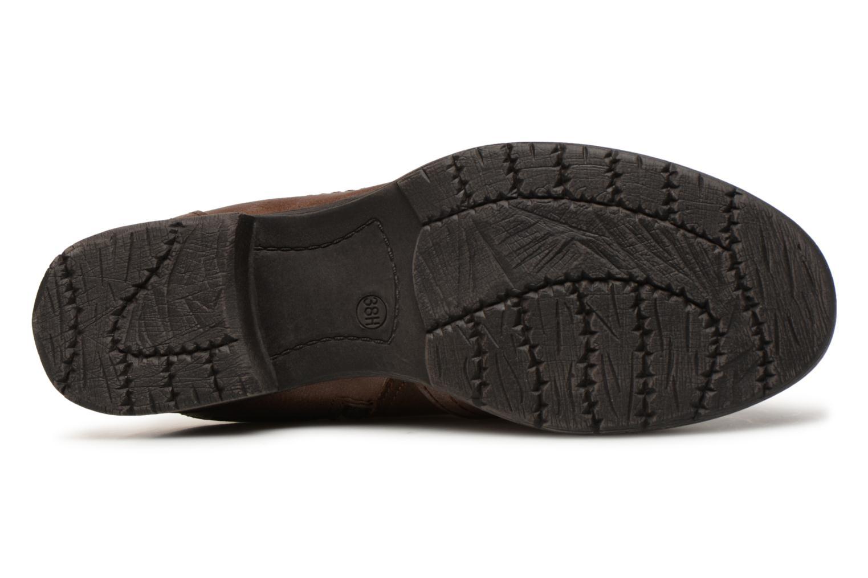 Bottines et boots Jana shoes Susina 25460 Marron vue haut