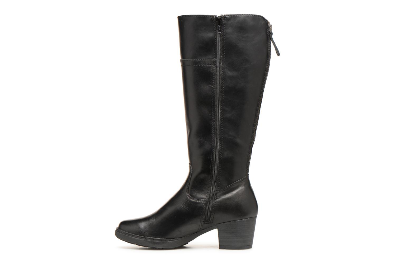 Bottes Jana shoes Emba Noir vue face