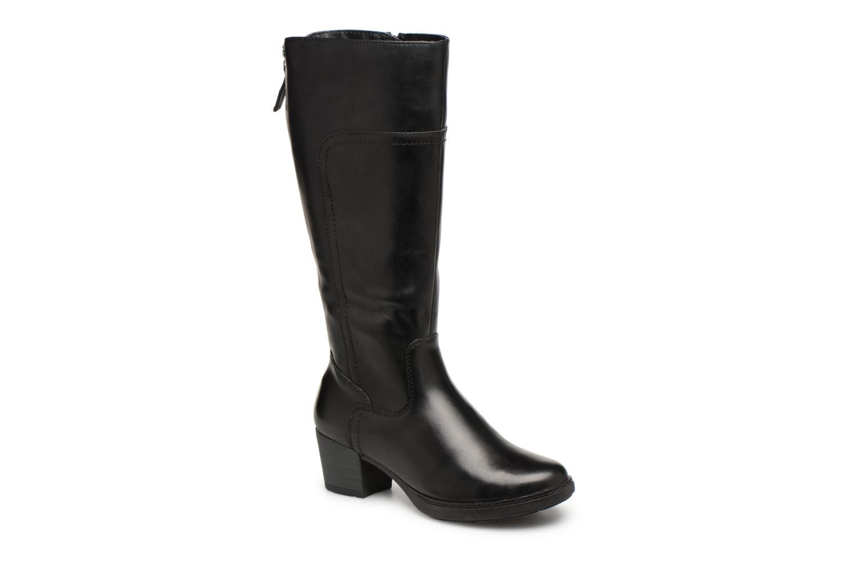Bottes Jana shoes Emba Noir vue détail/paire
