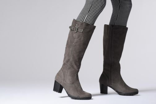 Boots & wellies Jana shoes Futuro 25506 Grey view from underneath / model view