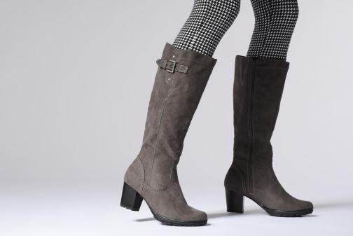 Bottes Jana shoes Futuro 25506 Gris vue bas / vue portée sac