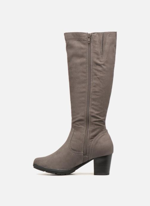 Boots & wellies Jana shoes Futuro 25506 Grey front view