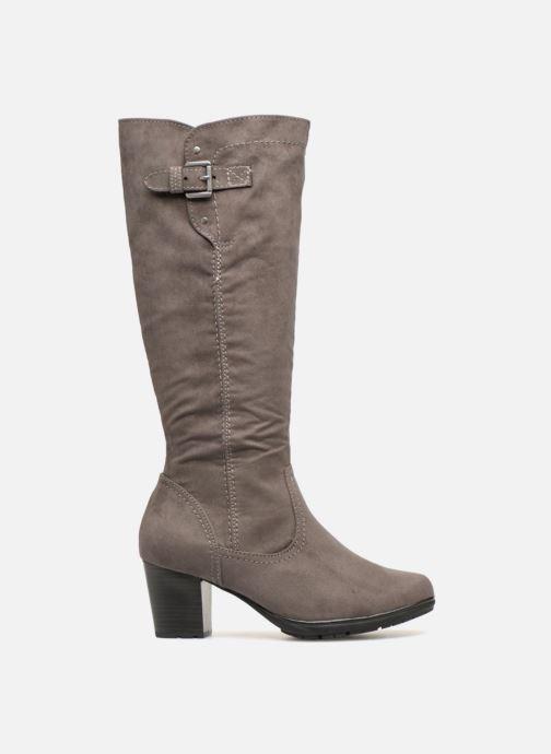 Boots & wellies Jana shoes Futuro 25506 Grey back view