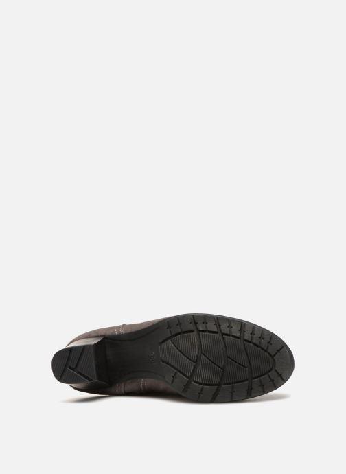 Bottes Jana shoes Futuro 25506 Gris vue haut