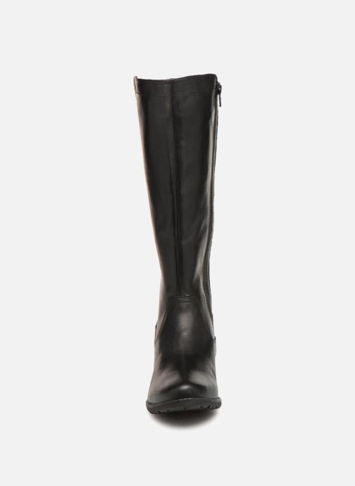 Boots & wellies Jana shoes Dumas 25601 Black model view