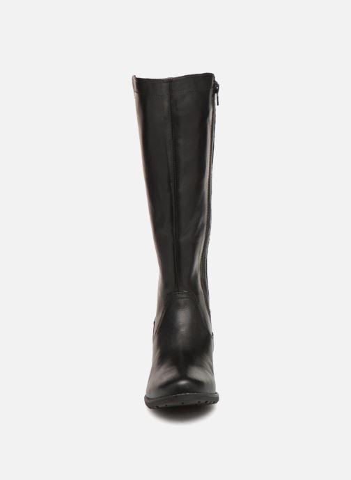 Stiefel Jana shoes Dumas 25601 schwarz schuhe getragen