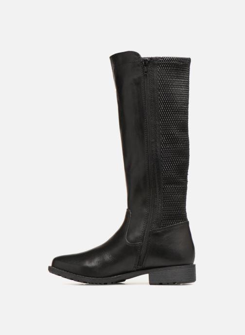 Bottes Jana shoes Dumas 25601 Noir vue face