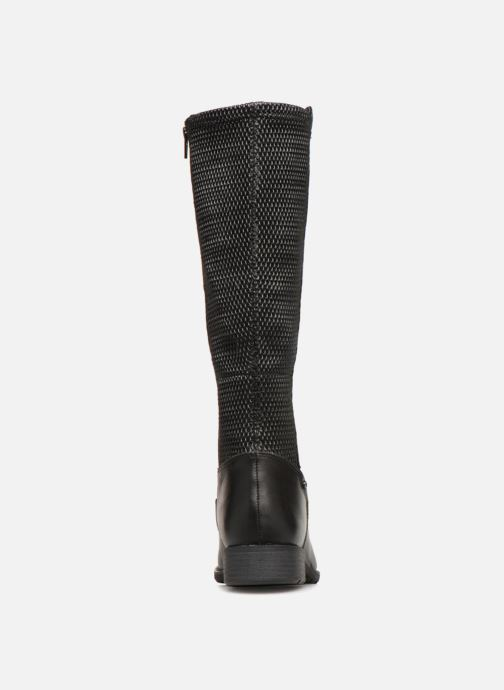Boots & wellies Jana shoes Dumas 25601 Black view from the right