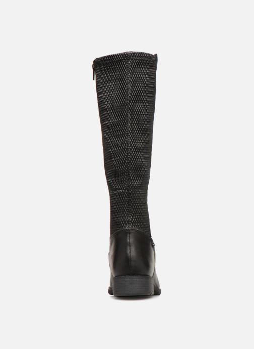 Bottes Jana shoes Dumas 25601 Noir vue droite