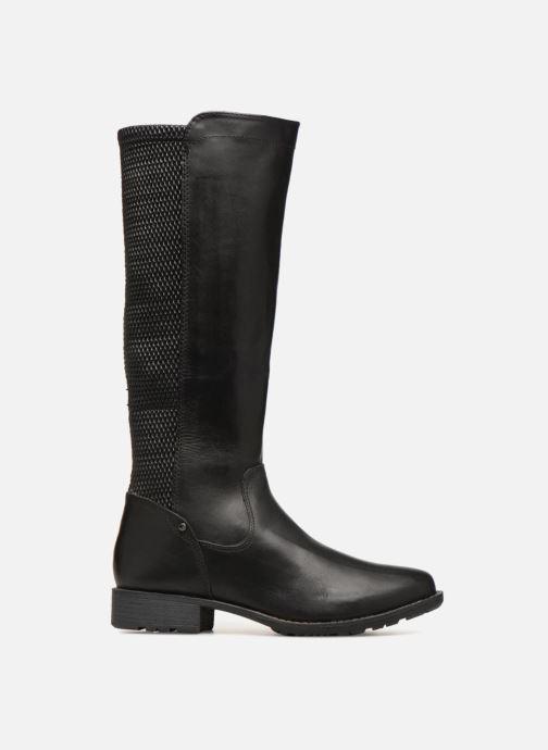 Boots & wellies Jana shoes Dumas 25601 Black back view