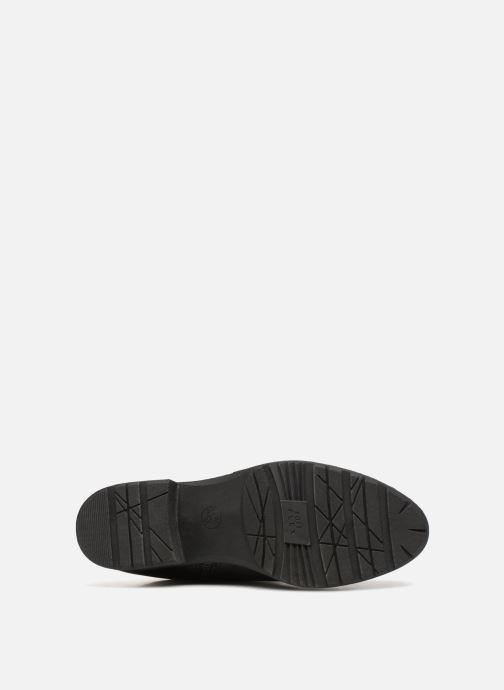 Stiefel Jana shoes Dumas 25601 schwarz ansicht von oben