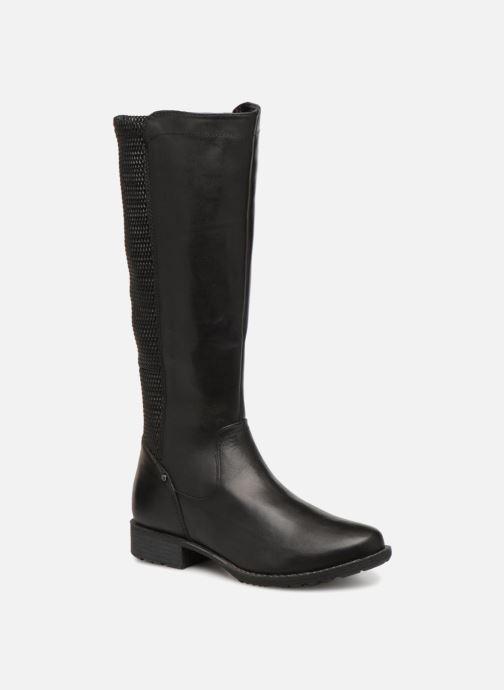 Bottes Jana shoes Dumas 25601 Noir vue détail/paire