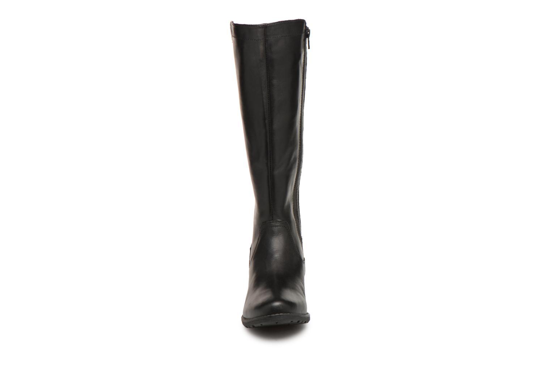 Stivali Jana shoes Dumas 25601 Nero modello indossato