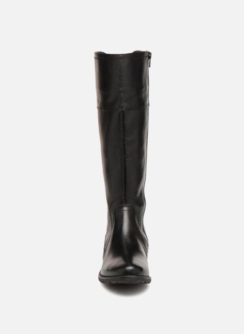 Stiefel Jana shoes Dumas 25602 schwarz schuhe getragen