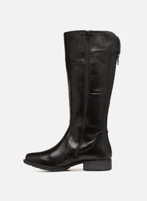 Boots & wellies Jana shoes Dumas 25602 Black front view