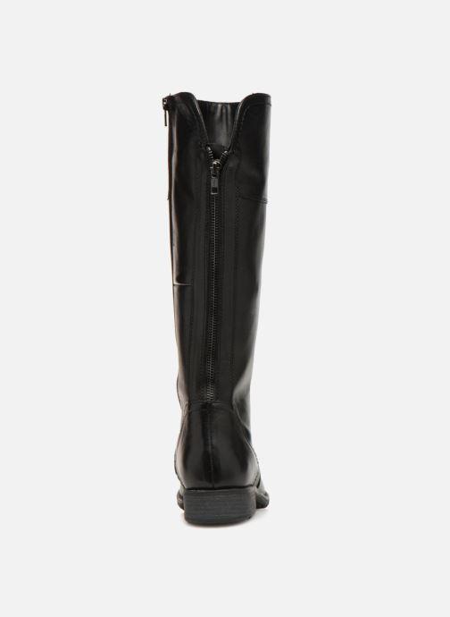 Bottes Jana shoes Dumas 25602 Noir vue droite