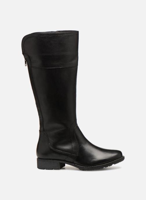 Boots & wellies Jana shoes Dumas 25602 Black back view
