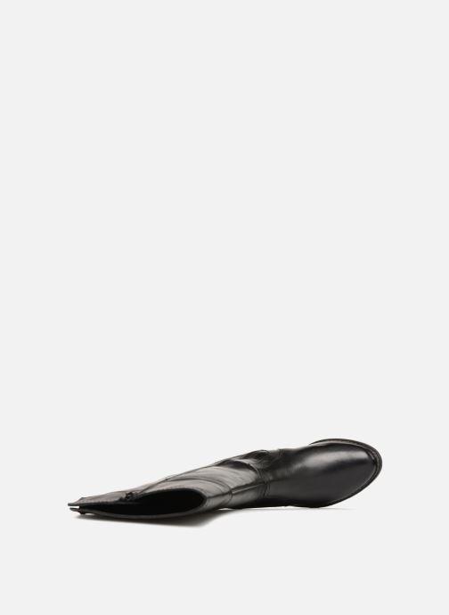 Stiefel Jana shoes Dumas 25602 schwarz ansicht von links