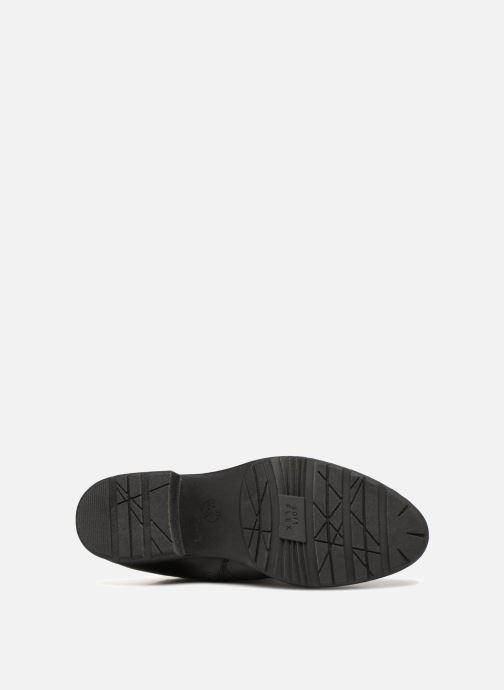 Stiefel Jana shoes Dumas 25602 schwarz ansicht von oben
