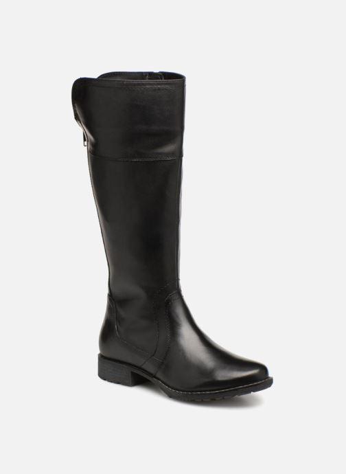 Bottes Jana shoes Dumas 25602 Noir vue détail/paire