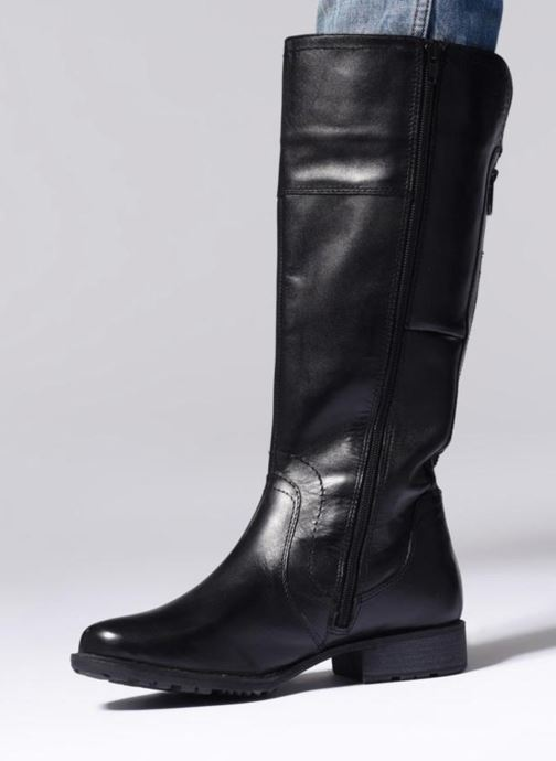 Bottes Jana shoes Dumas 25602 Marron vue bas / vue portée sac