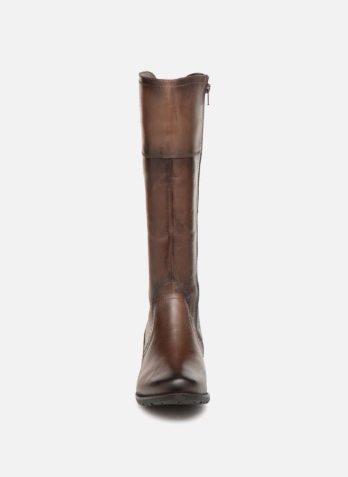 Bottes Jana shoes Dumas 25602 Marron vue portées chaussures