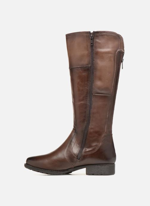 Bottes Jana shoes Dumas 25602 Marron vue face
