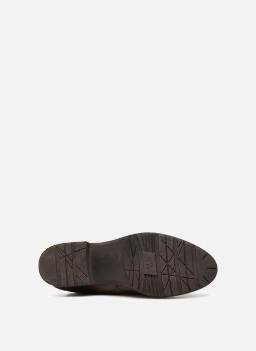 Bottes Jana shoes Dumas 25602 Marron vue haut
