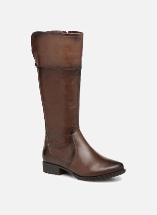 Bottes Jana shoes Dumas 25602 Marron vue détail/paire