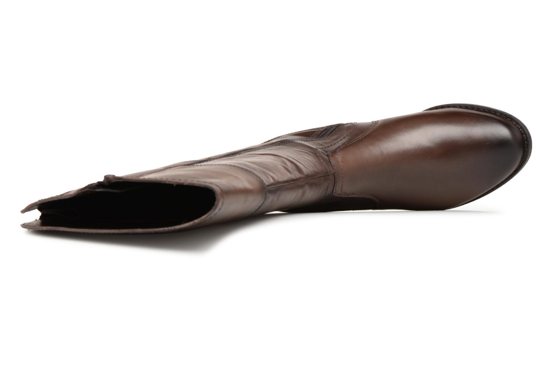 Stivali Jana shoes Dumas 25602 Marrone immagine sinistra