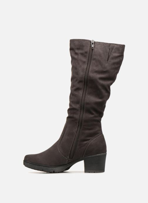 Bottes Jana shoes Minto 25662 Noir vue face