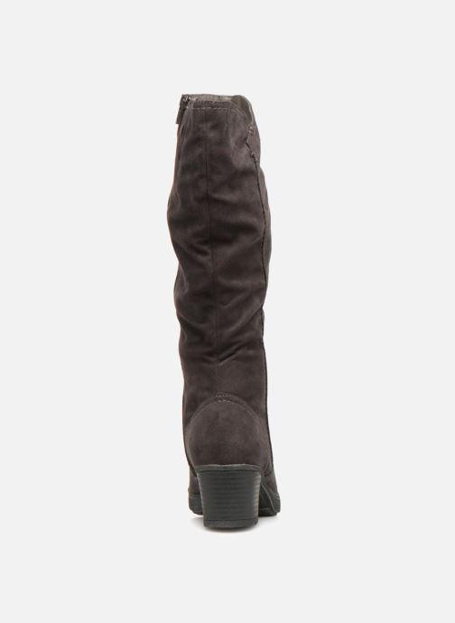 Bottes Jana shoes Minto 25662 Noir vue droite